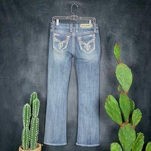 Rock Revival Mira Bootcut Light Wash Jeans    G296